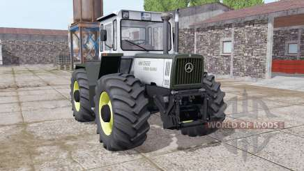 Mercedes-Benz Trac 1400 Turbo light grayish для Farming Simulator 2017
