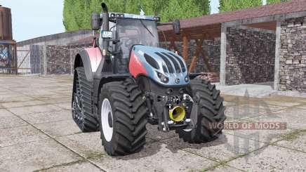Steyr Terrus 6770 CVT crawler modules для Farming Simulator 2017