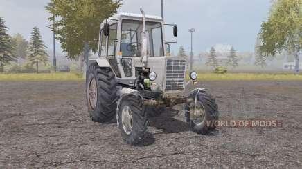 МТЗ 82.1 Беларус светло-серо-оранжевый для Farming Simulator 2013
