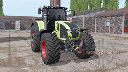 CLAAS Axion 930 soft yellow для Farming Simulator 2017