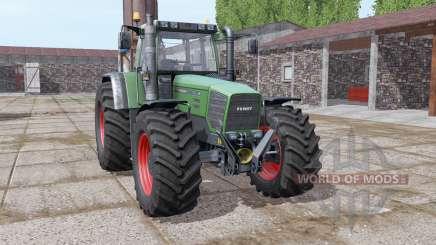 Fendt Favorit 822 multicolor для Farming Simulator 2017