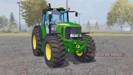 John Deere 7530 Premium green для Farming Simulator 2013