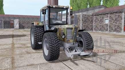 Schluter Super 1500 TVL camo для Farming Simulator 2017