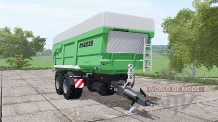 JOSKIN Trans-Space 7000-27 green для Farming Simulator 2017