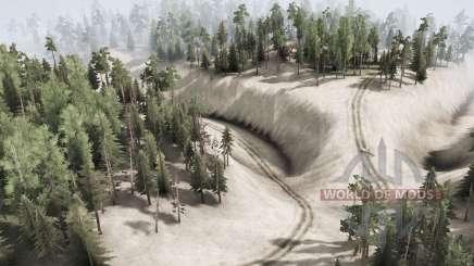 Deer Run Valley для MudRunner
