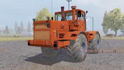 Кировец К-700А красно-оранжевый для Farming Simulator 2013