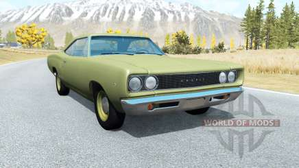 Dodge Coronet hardtop (WH-23) 1968 v3.0 для BeamNG Drive