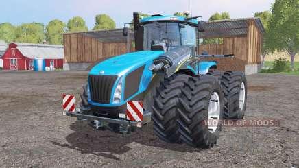 New Holland T9.700 twin wheels для Farming Simulator 2015
