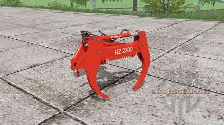 Fransgard HZ 2300 для Farming Simulator 2017