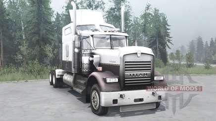Kenworth W900 для MudRunner