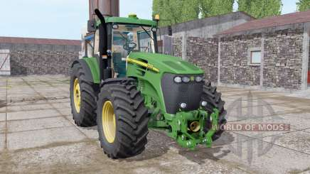 John Deere 7920 dark lime green для Farming Simulator 2017