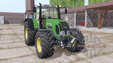 Fendt Favorit 926 wide tyre для Farming Simulator 2017