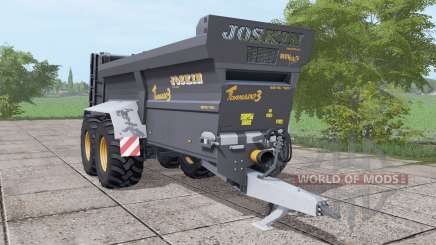 JOSKIN Tornado3 black для Farming Simulator 2017