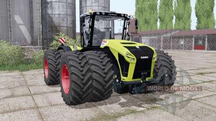 CLAAS Xerion 4500 twin wheels для Farming Simulator 2017