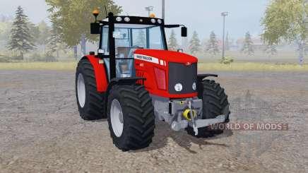 Massey Ferguson 6475 red для Farming Simulator 2013
