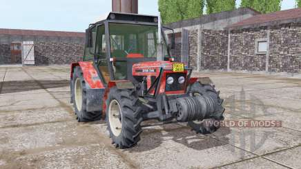 Zetor 7045 soft red для Farming Simulator 2017