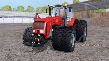 Беларус 3522 сдвоенные колёса для Farming Simulator 2015