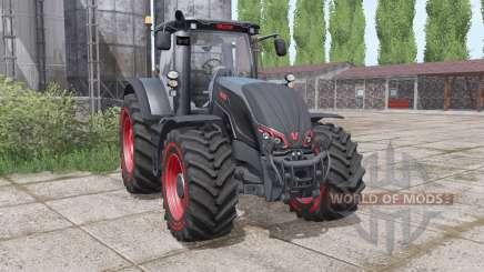 Valtra S324 black для Farming Simulator 2017
