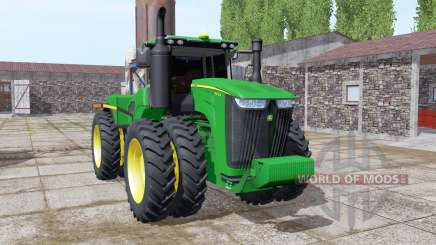 John Deere 9470R twin wheels для Farming Simulator 2017