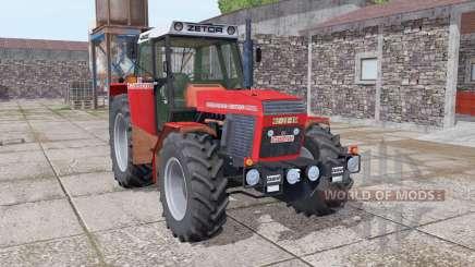 Zetor 16145 bright red для Farming Simulator 2017