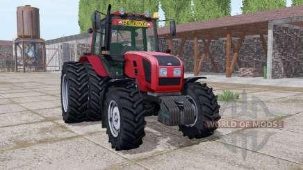 Беларус 1220.3 сдвоенные колёса для Farming Simulator 2017