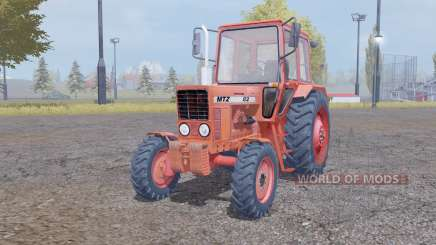 МТЗ 82 Беларус червоний для Farming Simulator 2013