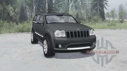 Jeep Grand Cherokee SRT8 (WK) 2008 для MudRunner