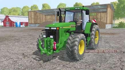 John Deere 8110 interactive control для Farming Simulator 2015