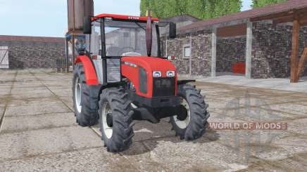 Zetor 5341 moderate red для Farming Simulator 2017