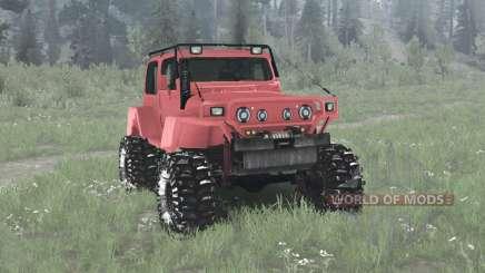 Jeep Wrangler (TJ) Pathfinder для MudRunner