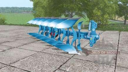 Lemken Juwel 8 blue для Farming Simulator 2017