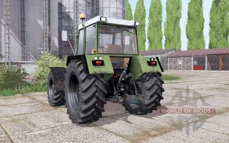 Fendt Favorit 612 LSA Turbomatik E dual rear для Farming Simulator 2017