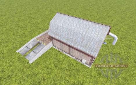 Grain Storage v1.1 для Farming Simulator 2017