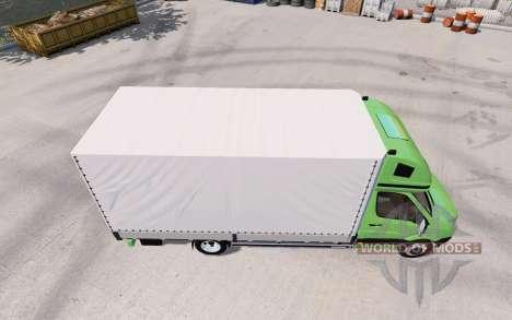 Volkswagen Crafter для American Truck Simulator