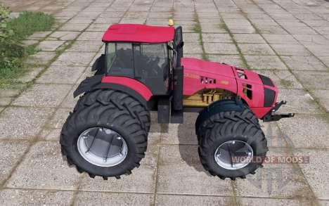 Беларус 4522 сдвоенные колёса для Farming Simulator 2017