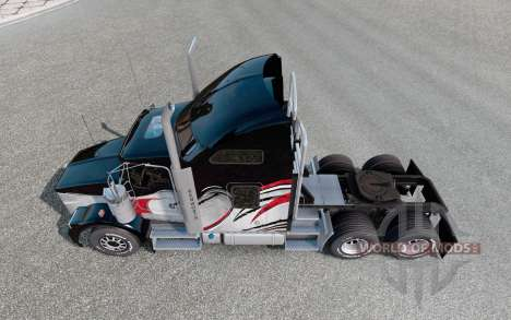 Kenworth T800 v1.1 для Euro Truck Simulator 2