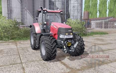 Case IH Puma 240 CVX narrow wheels для Farming Simulator 2017