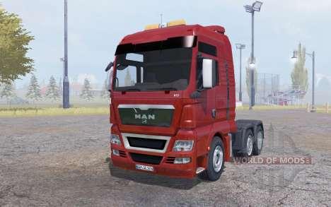 MAN TGX 6x6 для Farming Simulator 2013