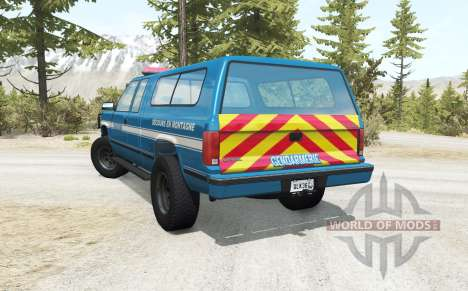 Gavril D-Series Gendarmerie v2.5 для BeamNG Drive