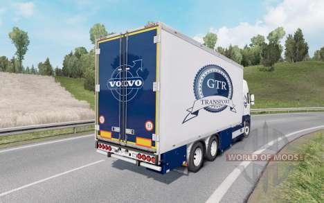 Volvo FH16 750 Globetrotter XL cab 2012 Tandem для Euro Truck Simulator 2