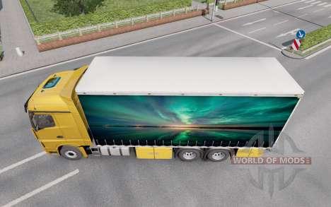 Mercedes-Benz Actros (MP4) Tandem для Euro Truck Simulator 2