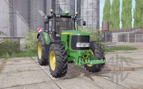 John Deere 6630 Premium animation parts для Farming Simulator 2017