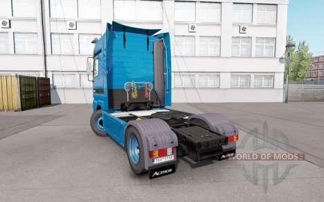 Mercedes-Benz Actros 1851 (MP1) v1.1 для Euro Truck Simulator 2