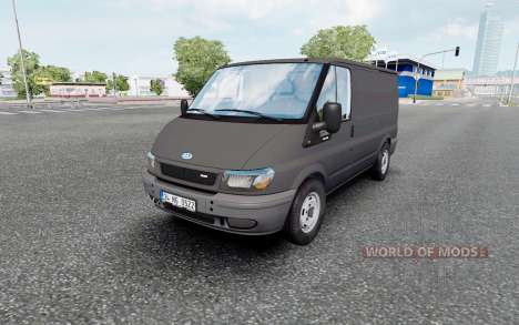 Ford Transit Van для Euro Truck Simulator 2