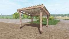 Small open cottage для Farming Simulator 2017