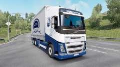 Volvo FH16 750 Globetrotter XL cab 2014 Tandem для Euro Truck Simulator 2
