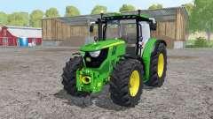 John Deere 6170R frоnt loader для Farming Simulator 2015