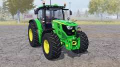 John Deere 6150R front loader для Farming Simulator 2013