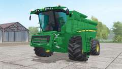 John Deere S690i with header для Farming Simulator 2017