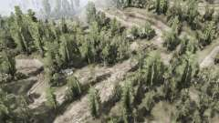 Лиственный лес для MudRunner